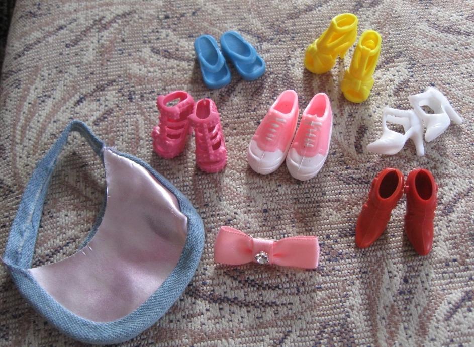 Как кукле обувь своими руками барби
